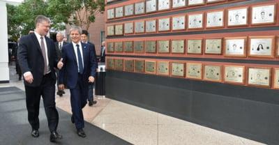 Ciolos se intalneste marti cu vicepresedintele SUA, la Washington