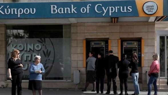 Cipru va debloca 10% din sumele de peste 100.000 de euro de la Bank of Cyprus
