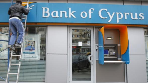 Cipru va taxa cu 30% sumele care depasesc 100.000 de euro din depozitele de la Bank of Cyprus