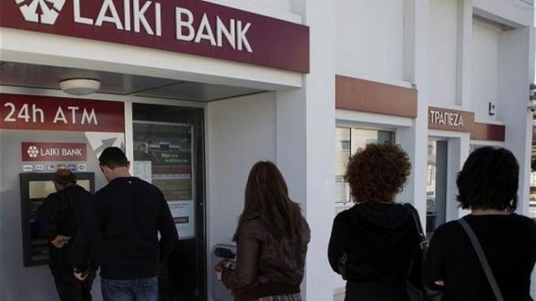 Ciprul a blocat active de peste 5 miliarde de euro ale unor fosti directori ai Laiki Bank