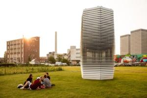 Cladirile care inspira murdaria oraselor si expira aer curat (Galerie foto)