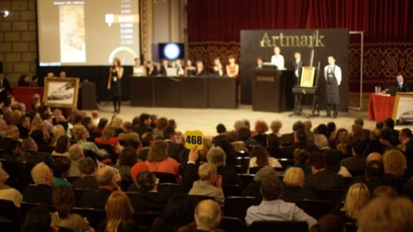 Clasici romani, in lumina reflectoarelor la primele licitatii de arta din 2012