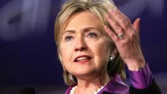 Clinton: Criza zonei euro este o problema europeana. SUA nu trebuie sa se implice