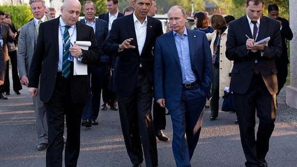 Coalitia impotriva terorismului ar putea scoate Rusia din criza. Putin joaca pragmatic