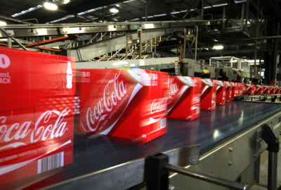 Coca-Cola HBC anunta rezultate financiare in scadere pe trimestrul trei