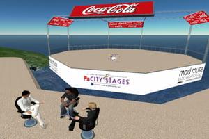 Coca Cola si-a creat propriul Second Life