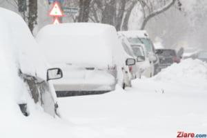 Cod galben de ninsoare in cinci judete - se asteapta strat nou de zapada de peste 15 cm
