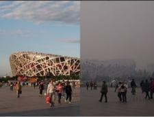 Cod portocaliu de smog, la Beijing - Fabricile s-au inchis, oamenii trebuie sa stea in case (Galerie foto)