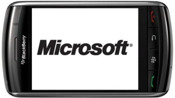 Colaborare Microsoft - RIM pentru BlackBerry Business Cloud