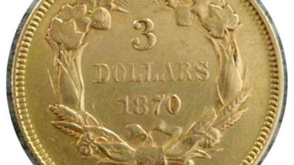 Colectionarii de monede rare profita de pretul ridicat al aurului
