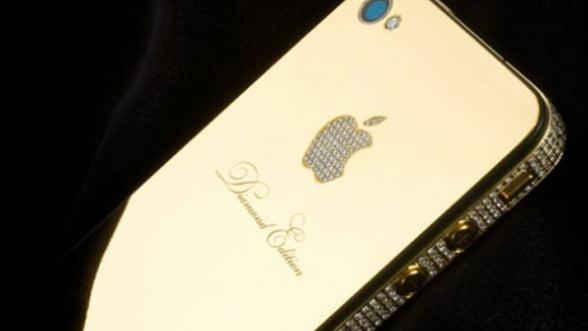 Comanda un iPhone5 personalizat cu aur, diamante sau piele