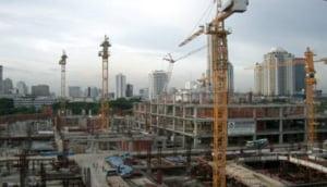 Comenzile de pe piata constructiilor au scazut cu 90%