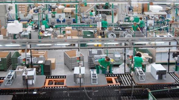 Comenzile noi din industrie au urcat cu 8,5% in primele cinci luni