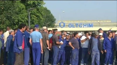 Valcea: Protest sindical la Oltchim