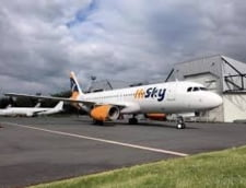 Compania aeriana HiSky din Republica Moldova si-a deschis baza pe Aeroportul International Iasi