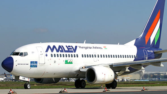 Compania aeriana ungara Malev, in pragul falimentului