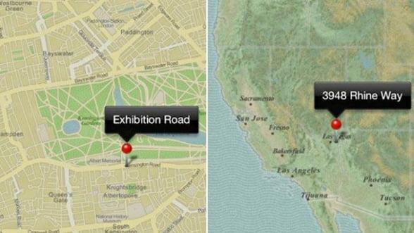 Comparatie intre hartile 3D Google si Apple