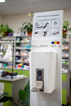 Comuna Ciugud implementeaza in premiera statii pentru dezinfectare inventate si produse in Romania