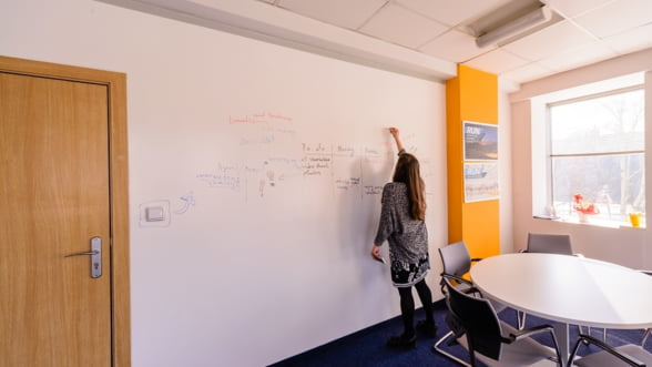 Comunicare fara bariere - Transforma-ti biroul intr-un spatiu interactiv!