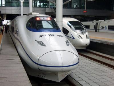Chinezii concureaza direct cu General Electric - vand cele mai ieftine trenuri de mare viteza
