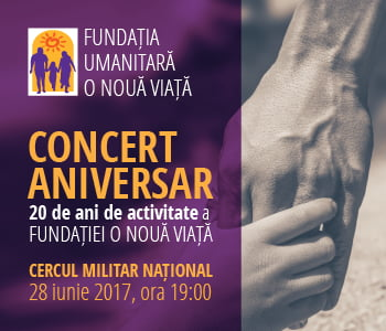 """Concert aniversar """"O noua viata"""""""