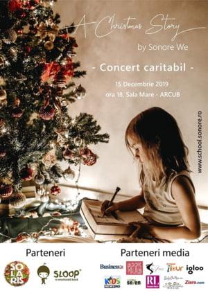 Concert caritabil de Craciun pentru copiii din orfelinate