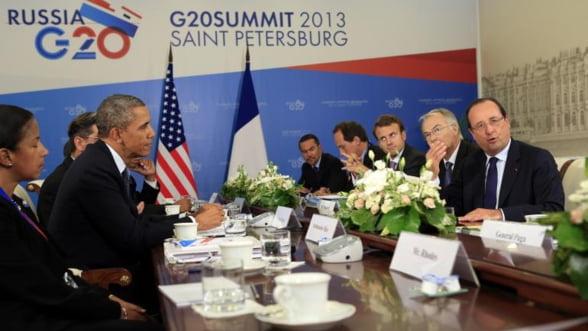 """Concluzii G20. """"Motorul"""" cresterii economice mondiale incepe sa dea rateuri"""