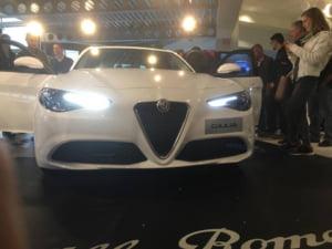 Concurenta serioasa pentru BMW: Alfa Romeo a lansat un sedan de lux (Foto)