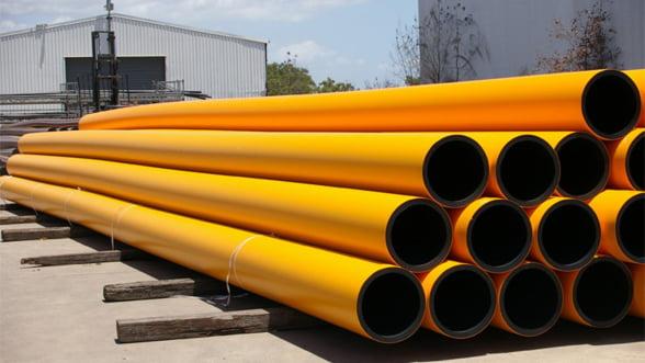 Conducta de gaz Iasi - Ungheni va fi cofinantata cu fonduri europene
