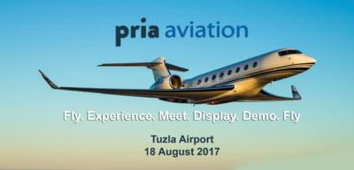 Conferinta PRIA Aviation va avea loc in data de 18 august 2017 la Aeroportul Tuzla