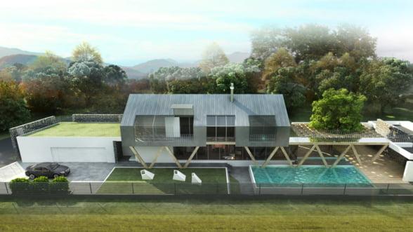 Construieste eco, fara sa renunti la lux - casa de 500 de metri patrati care face toti banii