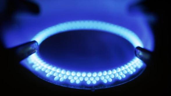 Consumul de gaze naturale a scazut cu aproape 5% in primul trimestru din 2013