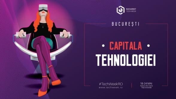 Continua pregatirile pentru cea de-a cincea editie Bucharest Tech Week