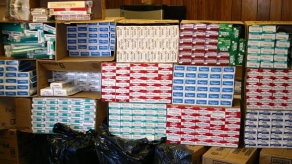 Contrabanda cu tigari a scazut in iulie la 11,8%