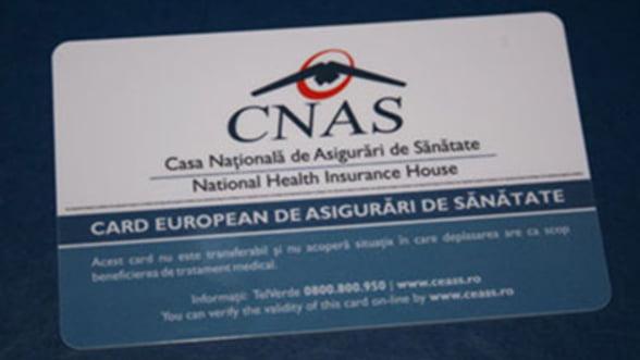 Contractul pentru cardurile europene de sanatate s-a atribuit singurei firme inscrise