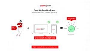 Contul Online Business - o solutie digitala marca Libra Internet Bank pentru firme si profesii liberale