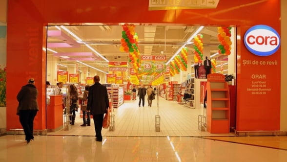 Cora: Credit record pentru un retailer, de 210 milioane de euro