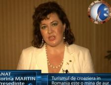 Corina Martin: turismul de croaziera in romania este o mina de aur