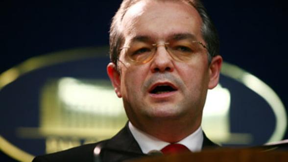 Cotroceni: Premierul Boc a discutat despre prezenta FMI in Romania