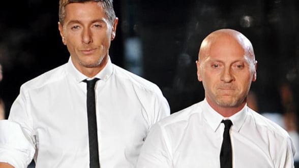 Creatorii casei de moda Dolce&Gabbana, condamnati la 18 luni de inchisoare