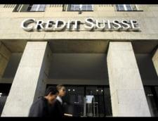 Credit Suisse a afisat o crestere cu 29% a profitului net din T2