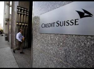 Credit Suisse a afisat pentru T3 un profit de 2,3 miliarde dolari
