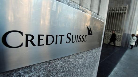 Credit Suisse isi acuza un fost vicepresedinte de furt de date