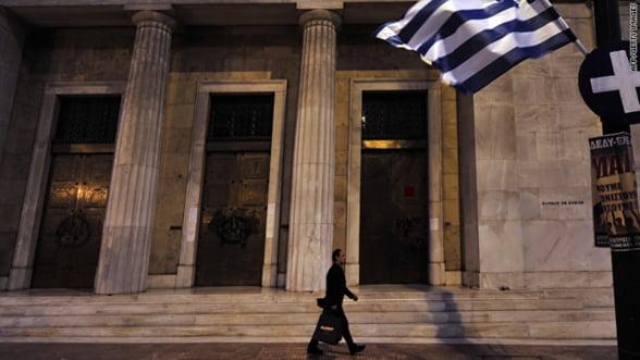 Creditare: Banca Greciei anunta in februarie de cati bani au nevoie institutiile elene