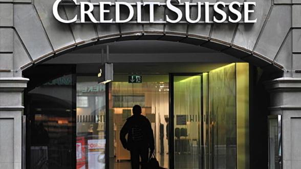 Creste numarul disponibilizarilor la Credit Suisse