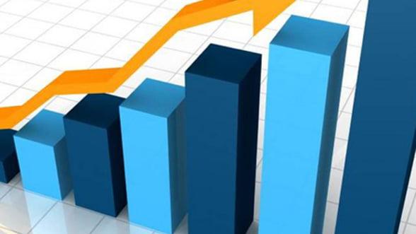 Cresterea PIB din primul trimestru, revizuita in urcare