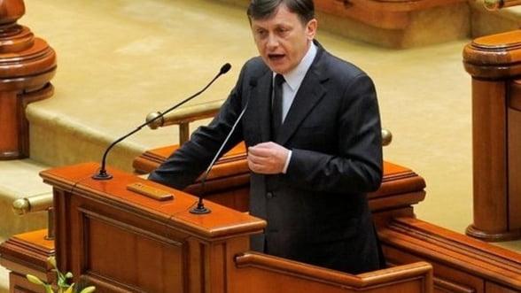 Crin Antonescu a fost ales presedinte al Senatului