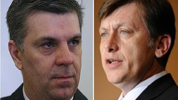 Crin Antonescu si Valeriu Zgonea sunt noii presedinti ai Camerelor Parlamentului