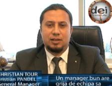 Cristian Pandel: un manager bun are grija de echipa sa