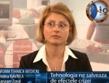 Cristina Gavrila: tehnologia ne salveaza de efectele crizei